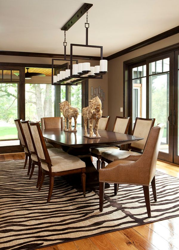 zebra print rug in living room 5 rooms featuring a zebra print rug ECFTRRG