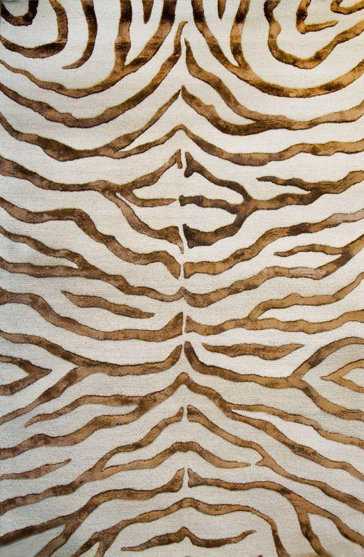 zebra rugs rugs usa safari contemporary zebra print with faux silk highlights brown rug ZNMJWUF