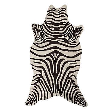 zebra rugs zebra indoor/outdoor rug - chocolate WIUCLHS