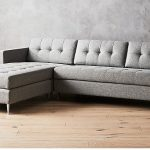 Seating furniture – grey sectional sofa