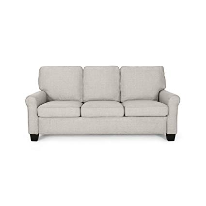 Amazon.com: Bridget 3-Seater Sofa, Traditional, Modern, Beige