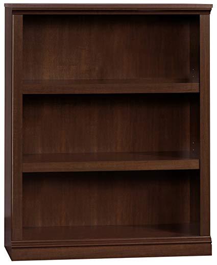 Amazon.com: Sauder 412808 3 Shelf Bookcase, L: 35.28