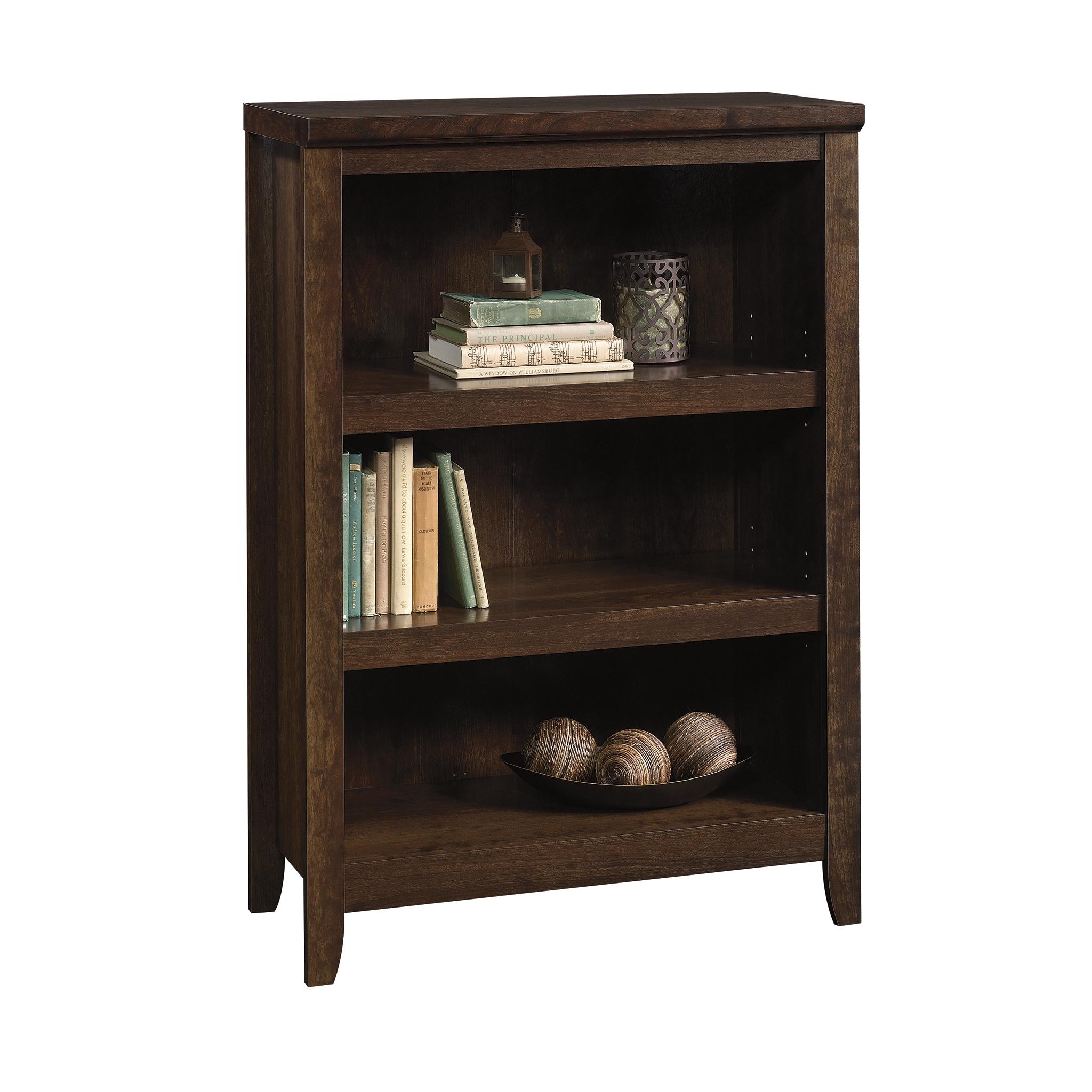 Better Homes & Gardens Parker 3 Shelf Bookcase, Estate Toffee Finish