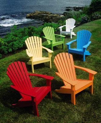 Seaside Adirondack Chair from Walpole Outdoors