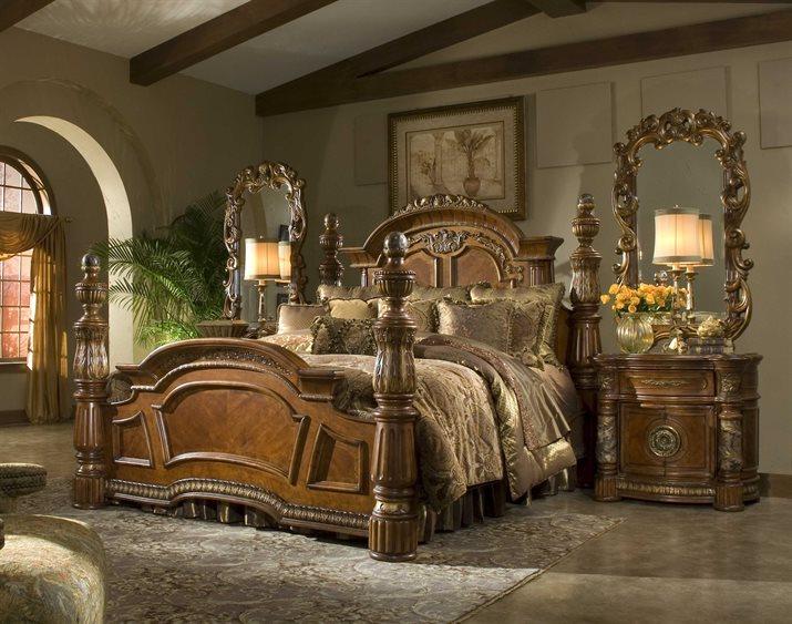 AICO Furniture Villa Valencia Bedroom Set | AIC72000EKP55SET
