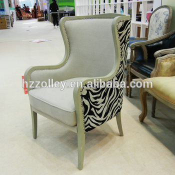 Antique Wing Chair Wing Back Chair Fabric Armchairs Design - Buy