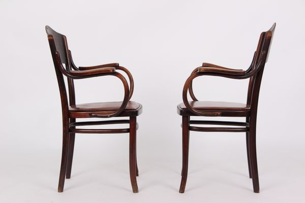 Antique Armchairs from Thonet, Set of 2 for sale at Pamono