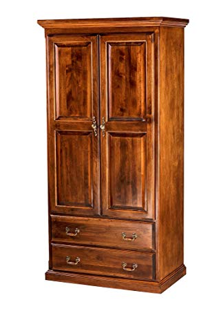 Amazon.com: Forest Designs Traditional Antique Wardrobe: 48W X 72H X