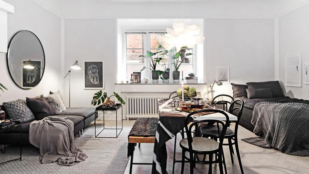 These Studio-Apartment Decor Ideas Show How Less Space Can Be More