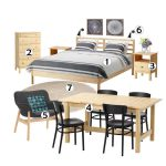 Latest apartment furniture sets to select