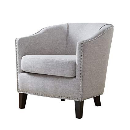 Amazon.com: Fremont Barrel Arm Chair Cream See Below: Home & Kitchen