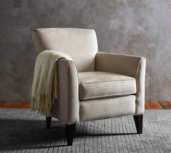 Marcel Upholstered Armchair | Pottery Barn