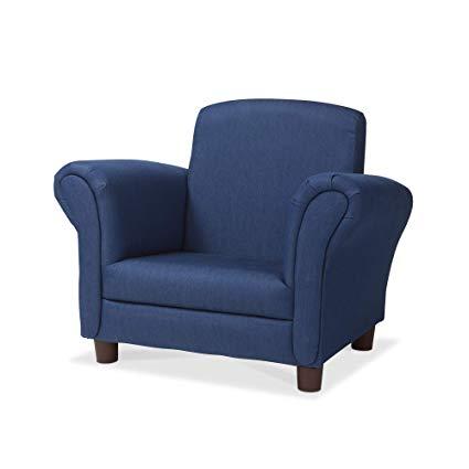 Amazon.com: Melissa & Doug Child's Armchair, Denim Children's
