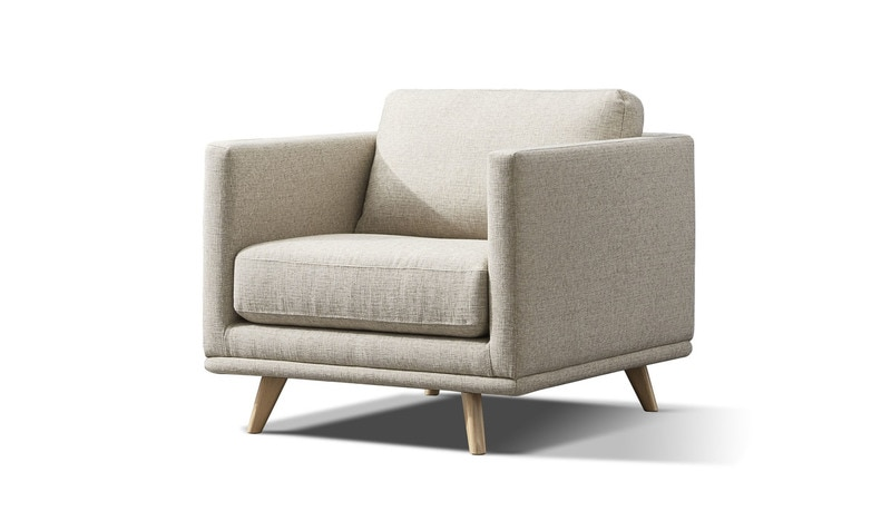 Oxley fabric armchair - Focus on Furniture
