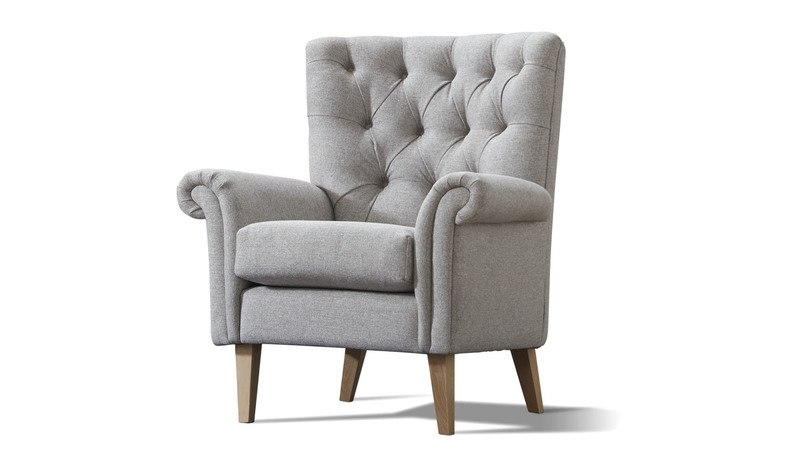 charcoal-tufted-back- channel- armchair-eastwood