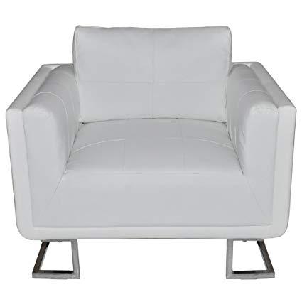 Amazon.com: Festnight Modern Single Sofa Arm Chair Tub Barrel Club