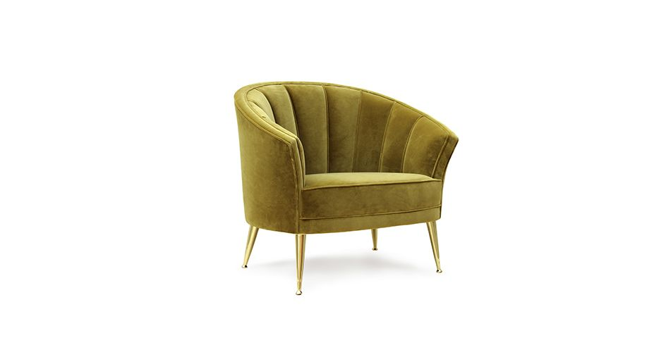 MAYA Armchair Mid Century Modern Furniture by BRABBU is perfect to