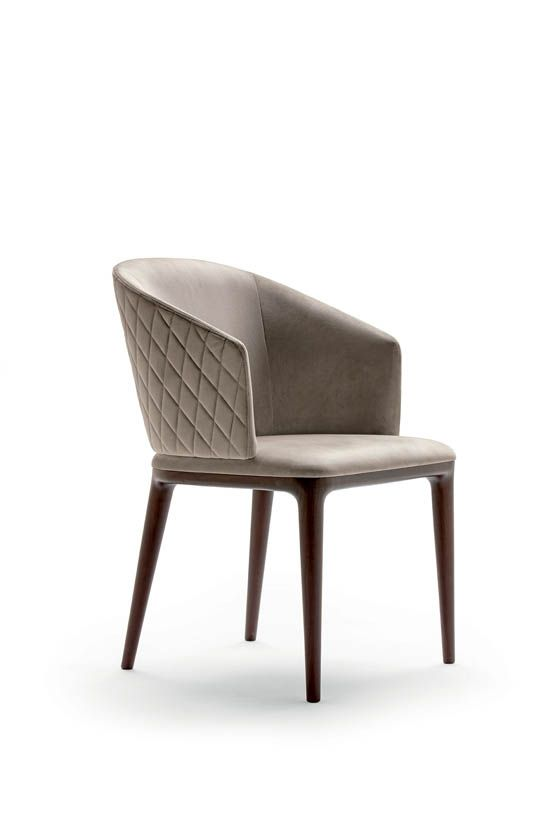 Quilted diamond pattern back chair by | Seating | Chair, Dining