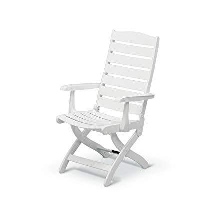 Amazon.com : Kettler Caribic Armchair - White : Garden & Outdoor