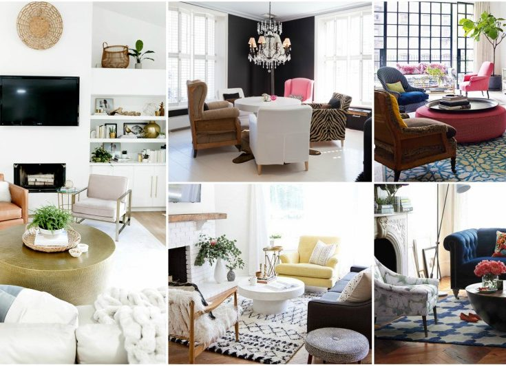 Mismatched Armchairs Is The Latest Trend For Your Living Room