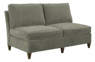 Leigh Armless Loveseat from the Suzanne Kasler® collection by