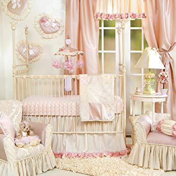 Amazon.com : Crib Bedding Set by Glenna Jean | Baby Girl Nursery +