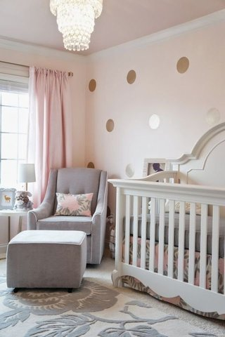 23 Baby Girl Nursery Ideas That Are So Dreamy