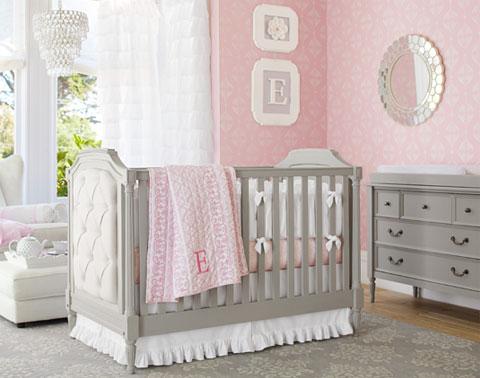 Nursery Themes & Baby Nursery Ideas for Girls | Pottery Barn Kids