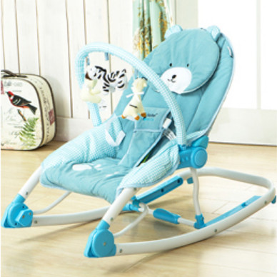 Maribel Hand actuated baby rocking chair portable folding chaise