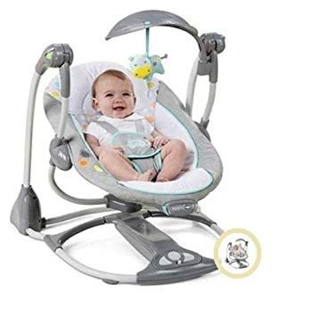 Amazon.com : Baby Swing 2 Seat Infant Toddler Rocker Chair Little