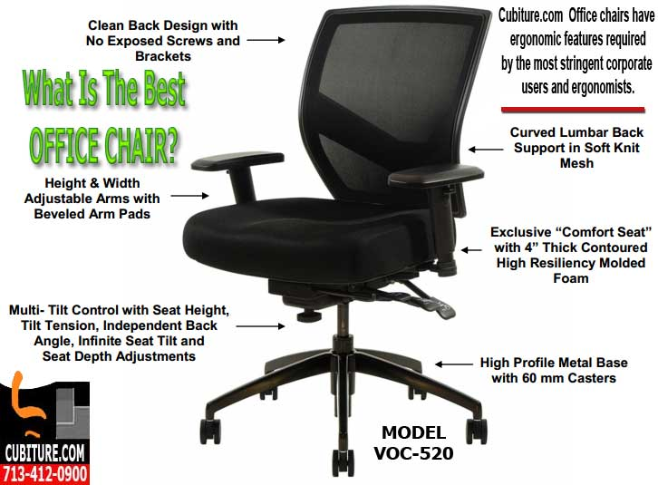 What Is Best Office Chairs For Back Support & Pain