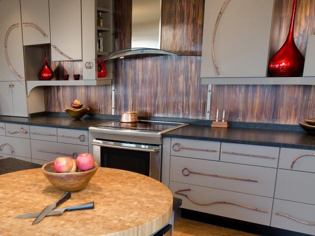 Metal Backsplash Ideas: Pictures & Tips From HGTV | HGTV