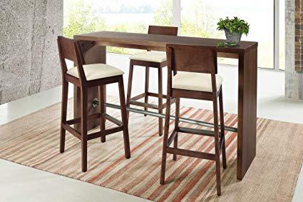 Amazon.com: Artefama Furniture Gourmet Counter-Height Bar Table