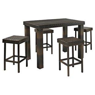 Bar Height Table And Stools | Wayfair
