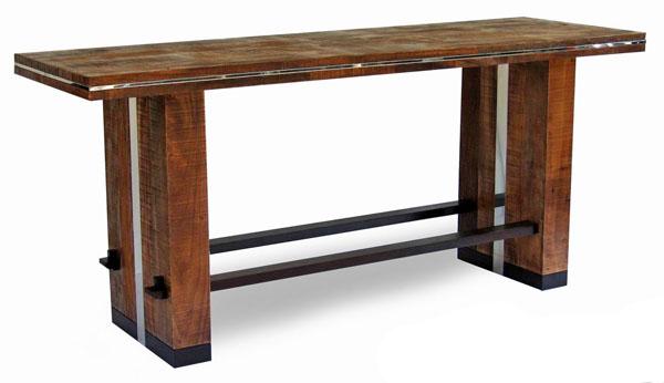 Modern Bar Height Table, Modern Counter Height Tables, Bar Dining