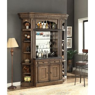 Bar With Hutch | Wayfair