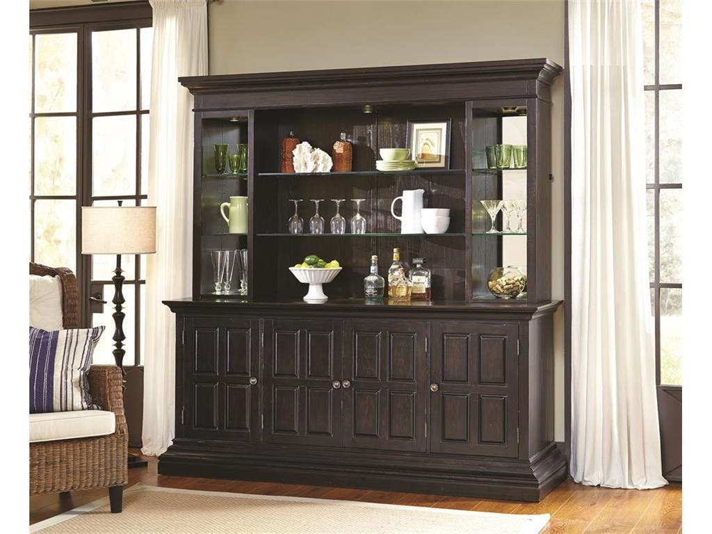 Pulaski Furniture Bar and Game Room Includes Bar Hutch and Back
