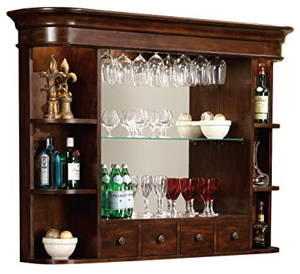 Amazon.com: Howard Miller 693-007 Niagara Bar Hutch by: Kitchen & Dining