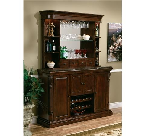 Buy Niagara Bar Hutch by Howard Miller from www.mmfurniture.com. Sku