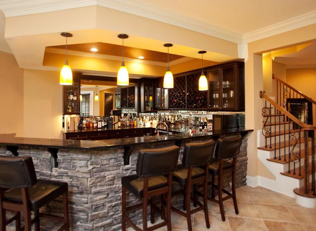 Inverness Residence Bar - Traditional - Basement - Atlanta - by