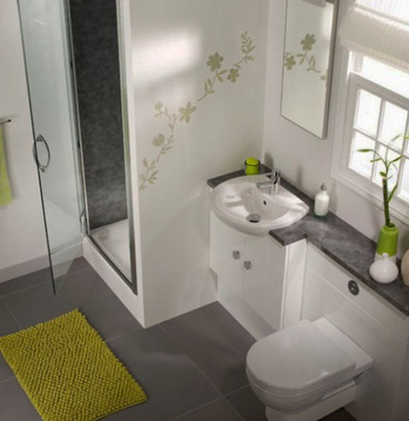 Small Space Problem? 3 Big Ideas for a Small Bathroom | Cool Buzz