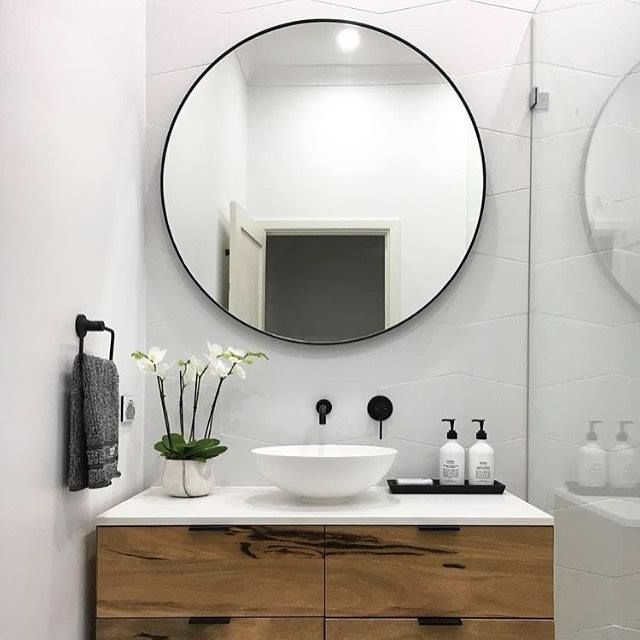 Tips to Choose a Bathroom Mirror | Amazing Interiors | Pinterest