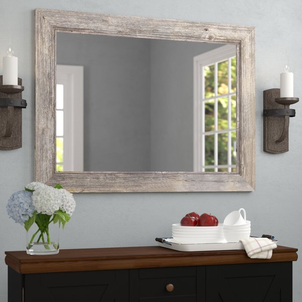 August Grove Coastal Bathroom Mirror & Reviews | Wayfair