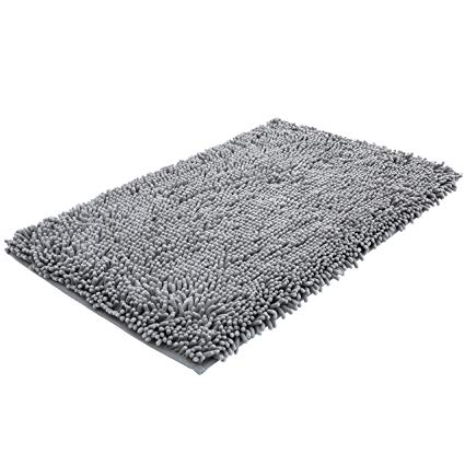 Amazon.com: NTTR Super Soft Bath Mat Microfiber Shag Bathroom Rugs
