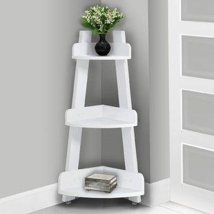 Free Standing Bathroom Shelving You'll Love | Wayfair