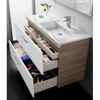 Roca Prisma Vanity Unit 1200mm : UK Bathrooms