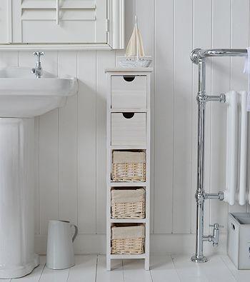 Tall slim narrow 20cm bathroom storage | Home Ideas in 2019 | Meuble