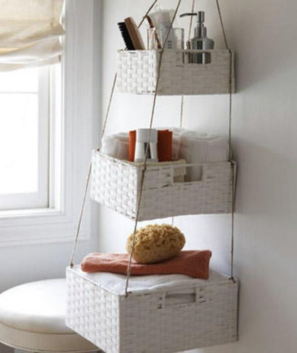 Small Bathroom Storage Baskets | Littletoomuch