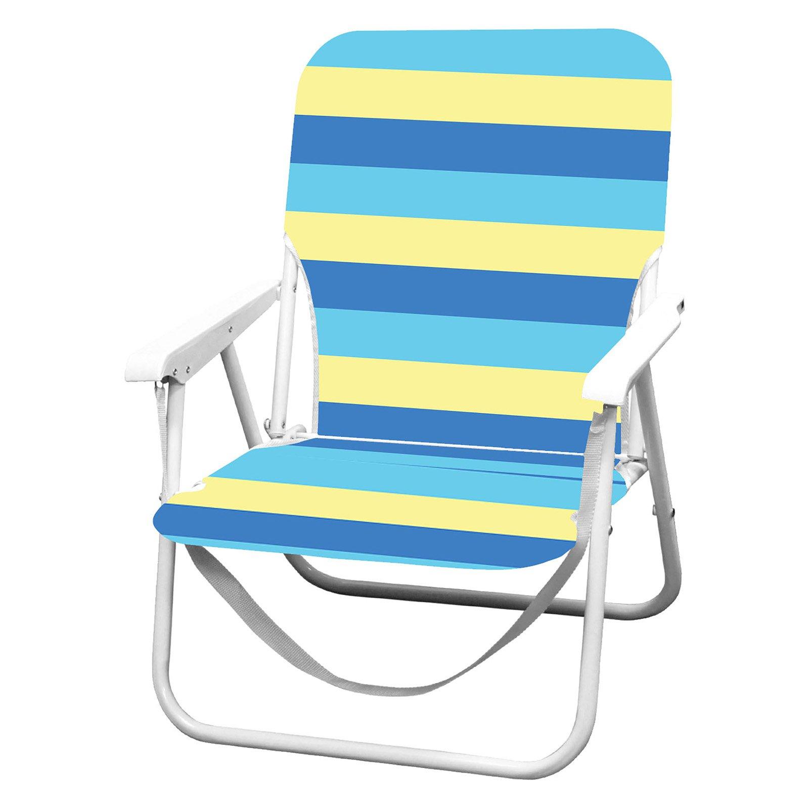 Caribbean Joe Folding Beach Chair - Walmart.com