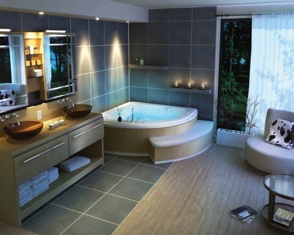 Bathroom Designs: 30 Beautiful and Relaxing Ideas